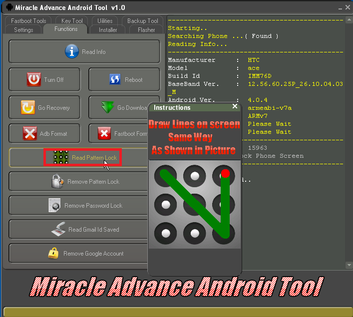 miracle advanced tool